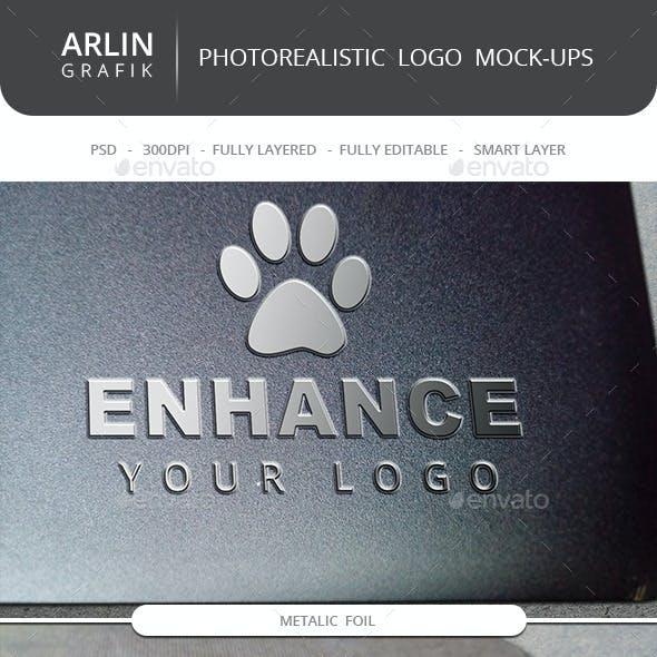 Photo Realistic Logo Mock-Up