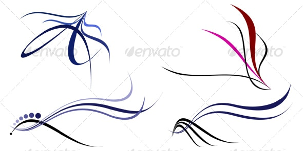 Elegance Shapes 3 - Decorative Symbols Decorative