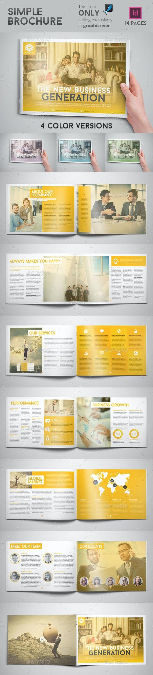 Simple Brochure - Corporate Brochures