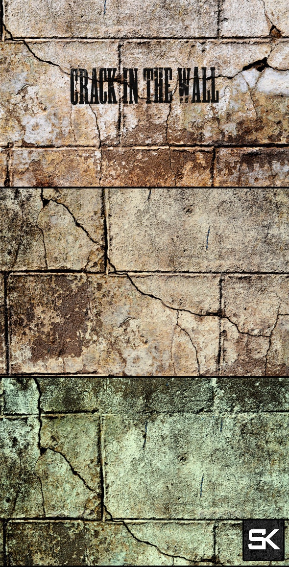 Crack In The Wall - Industrial / Grunge Textures