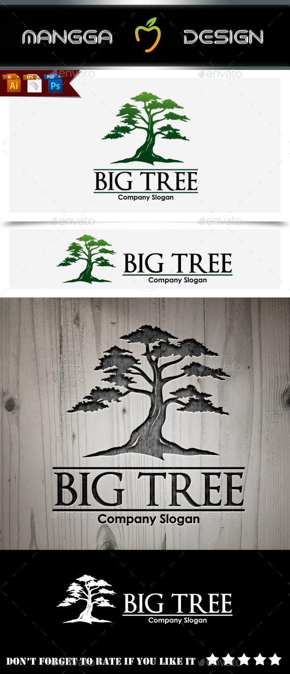 Big Tree Logo - Nature Logo Templates