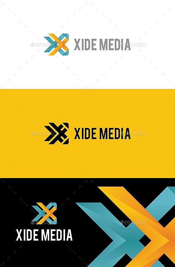 Xide Media - Letter X Logo - Letters Logo Templates