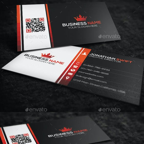2 in 1 Corporate Business Card Bundle