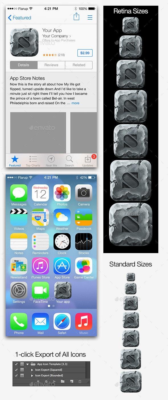 Stone iOS Icon Maker - Miscellaneous Icons
