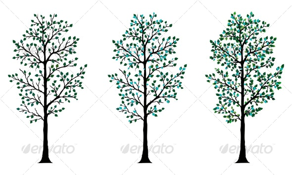 Vector Tree A - Objects Vectors