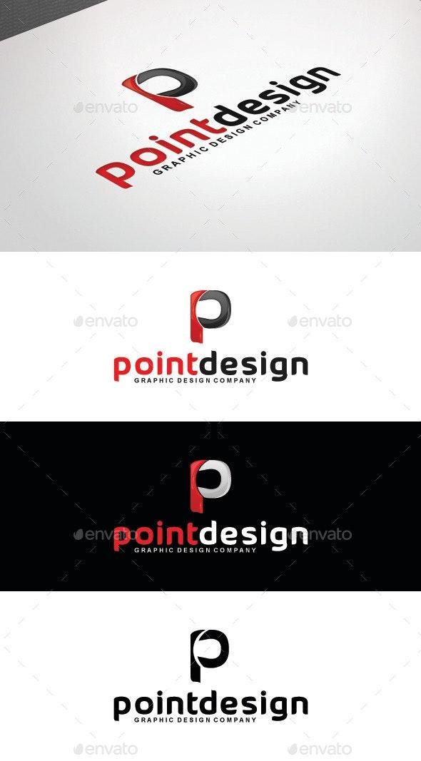 Point Design Logo Template - Letters Logo Templates