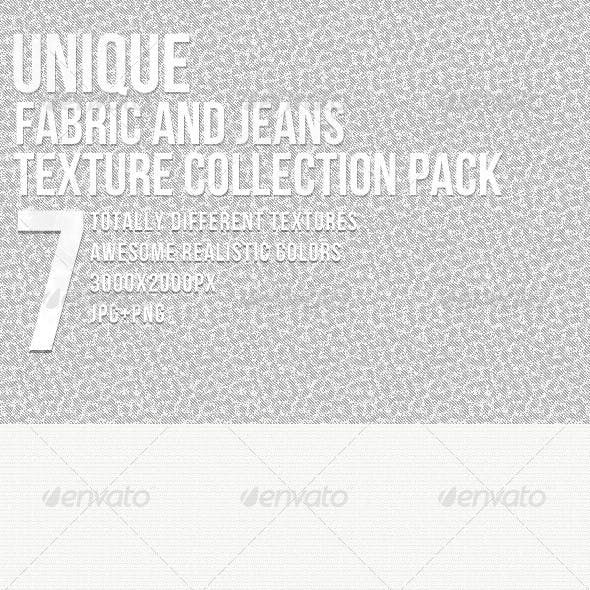 Unique Fabric and Jeans Textures