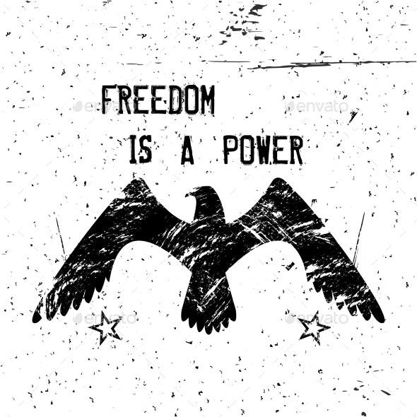 Eagle Poster - Tattoos Vectors