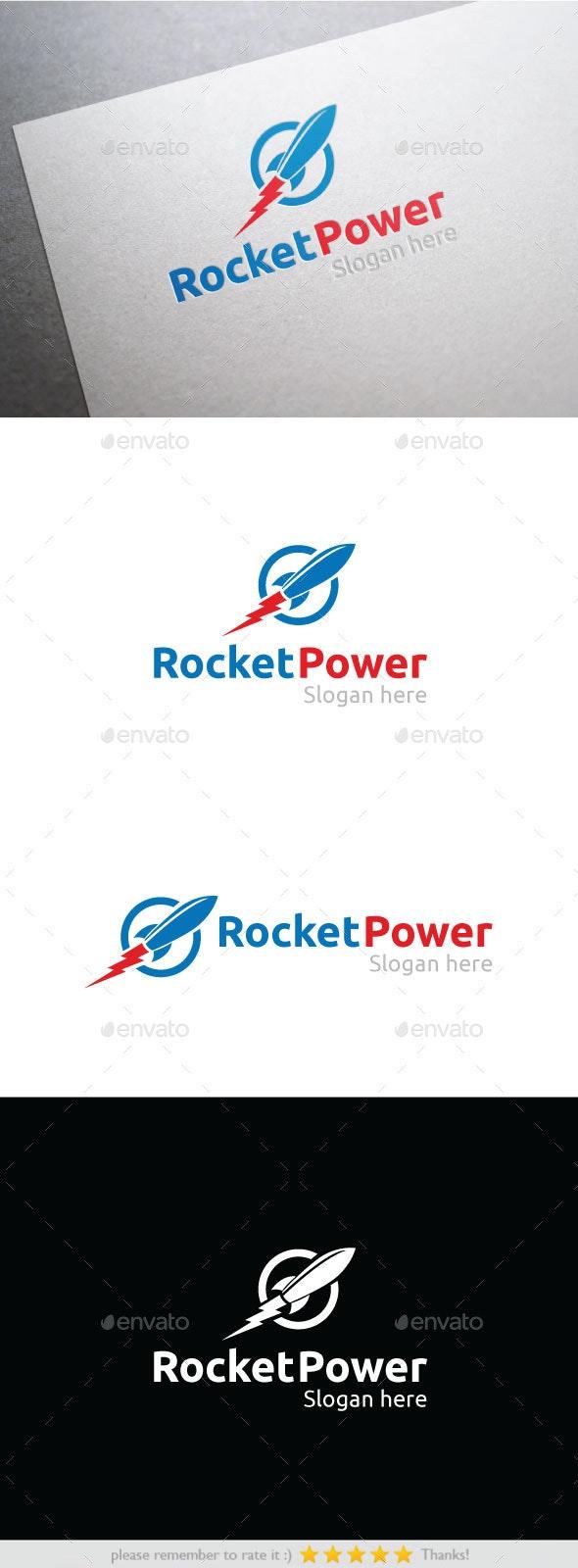 Rocket Power - Abstract Logo Templates