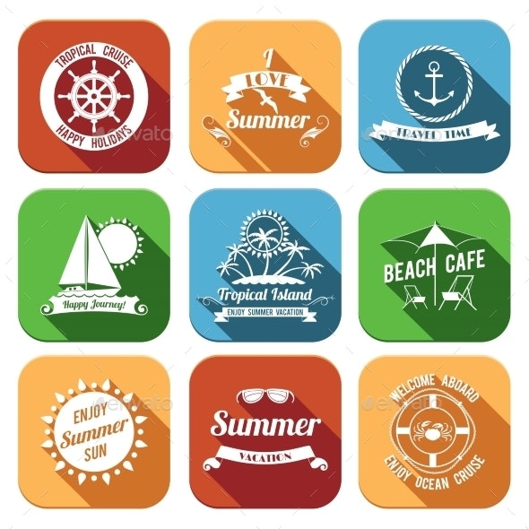 Summer Icons Set - Miscellaneous Icons
