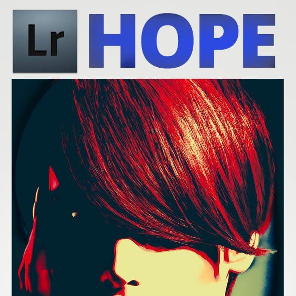 Hope Art Lightroom Preset