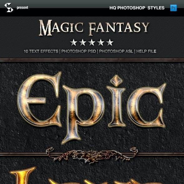 Fantasy Styles - Magic Fantasy