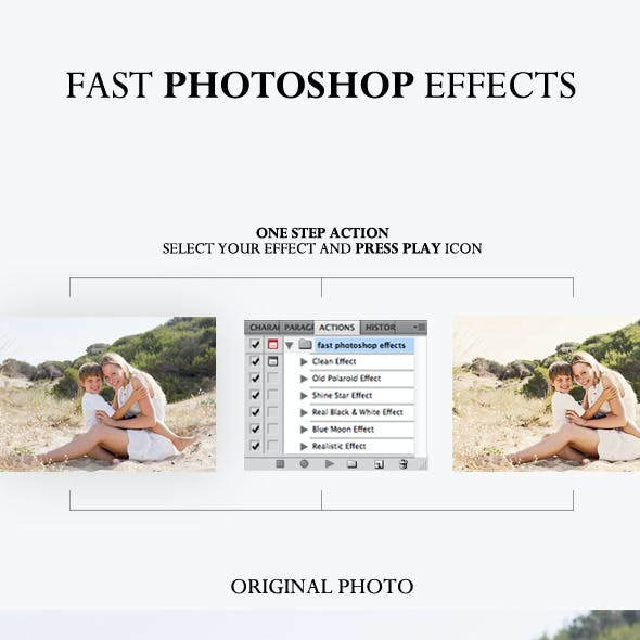 Fast Photoshop Effects