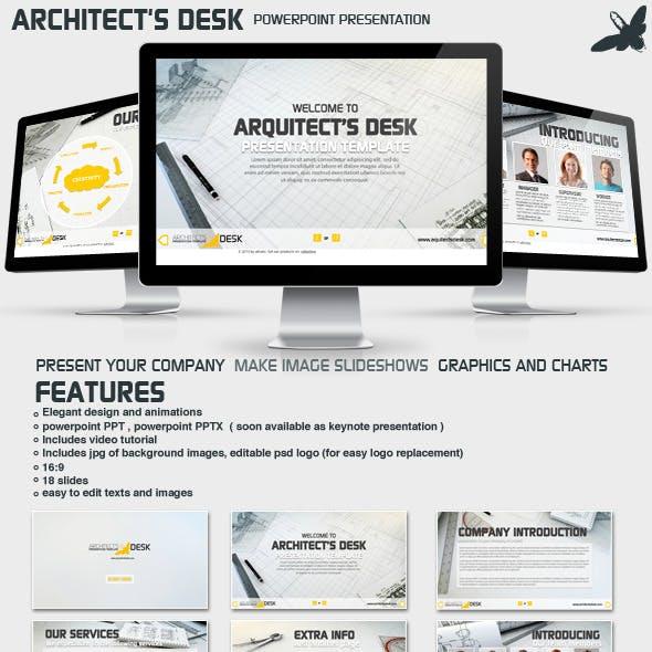 Architects Desk Presentation