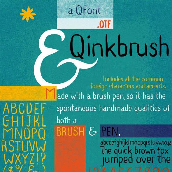Ink Pen & Brush Hand Lettering - Qinkbrush