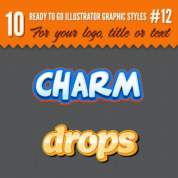 10 Logo Graphic Styles #12