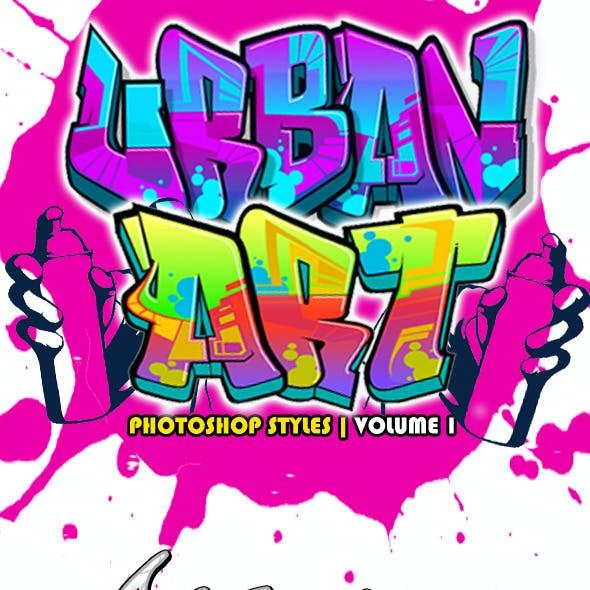 Urban Art Graffiti Styles Volume 1
