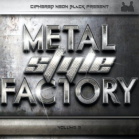 Metal Style Factory - Volume 03