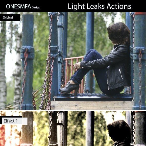 Light Leaks Actions