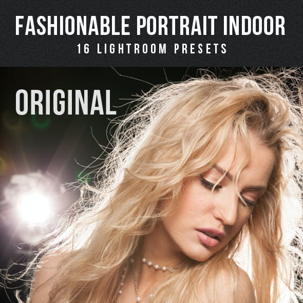 16 Fashionable Portrait Indoor Lightroom Presets