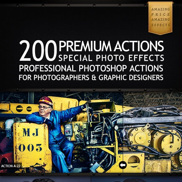 200 Premium Actions Bundle