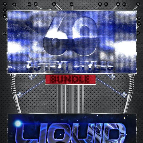 [Bundle] 60 Photoshop Layer Styles