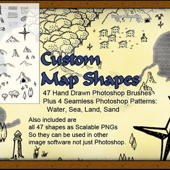 Custom Map Brushes