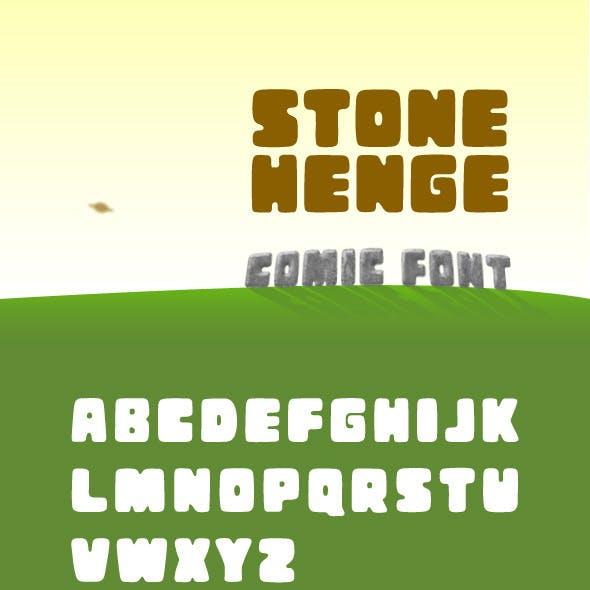 Stonehenge Font