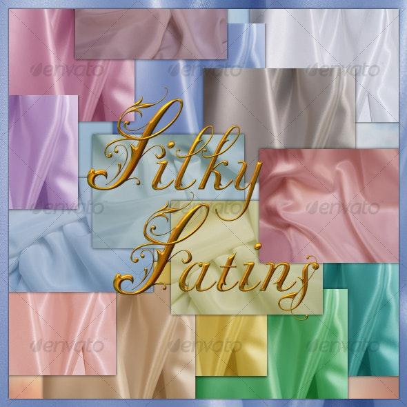 Silky Satins - Fabric Textures