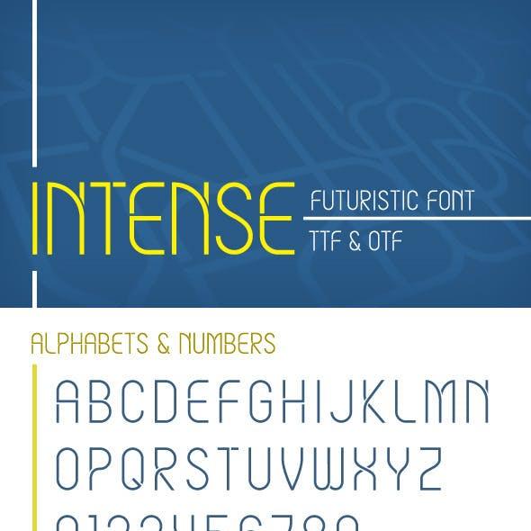 Intense Font