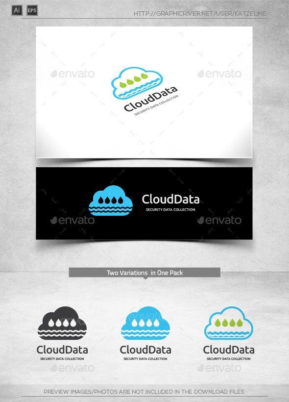 Cloud Data Collector - Logo Template