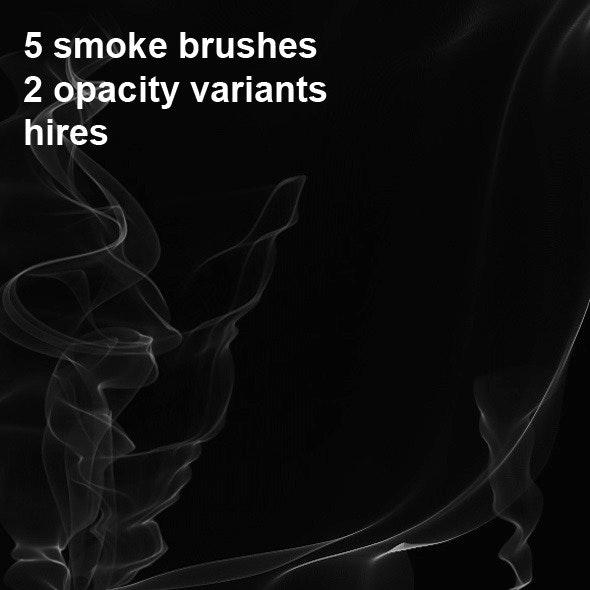 5 Photoshop Smoke Brushes - Brushes Photoshop