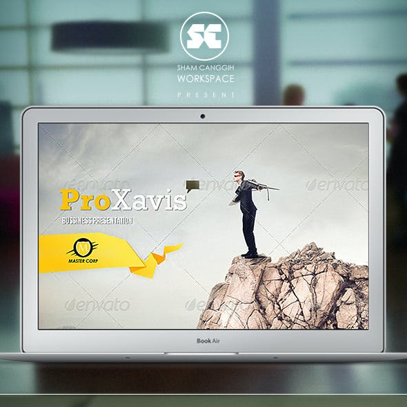 ProXavis : Modern Corporate Presentation