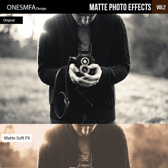 Matte Photo Effects Vol II