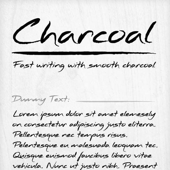 Charcoal Font