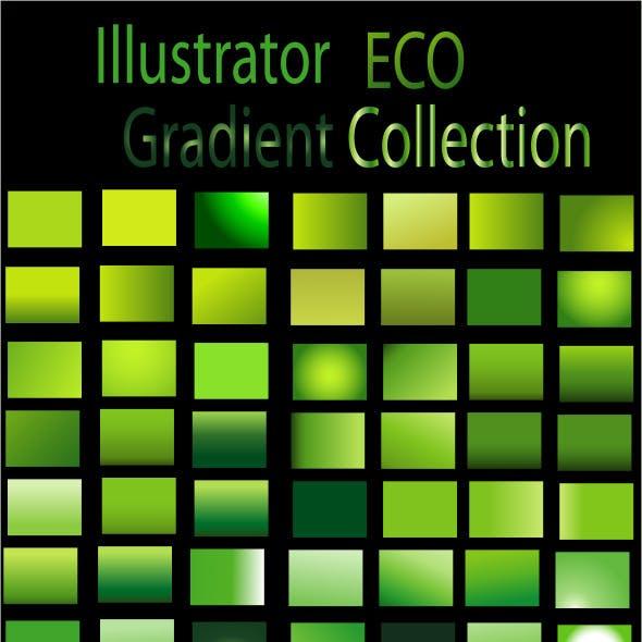 Eco Illustrator Gradient Collection