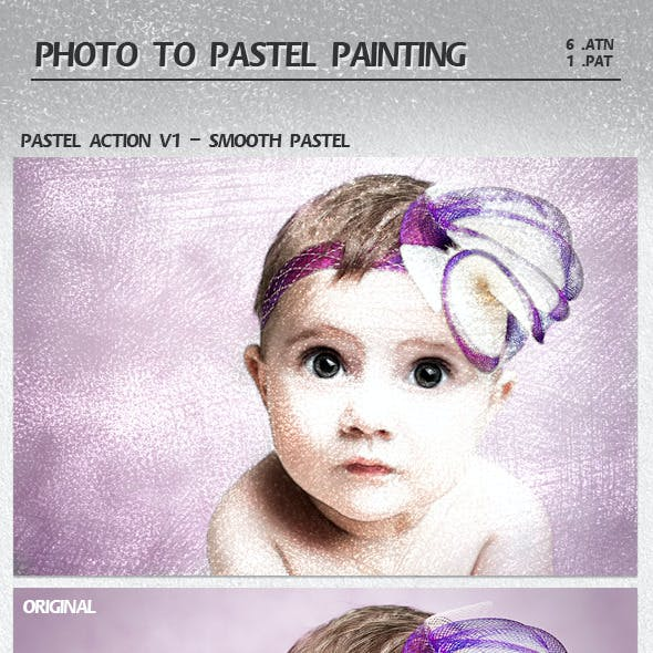 Photo to Pastel Painting