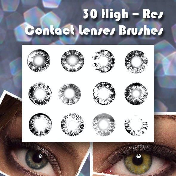 Contact Lenses Brush Set