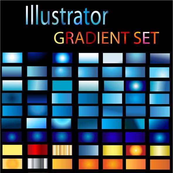 Illustrator Gradient Set