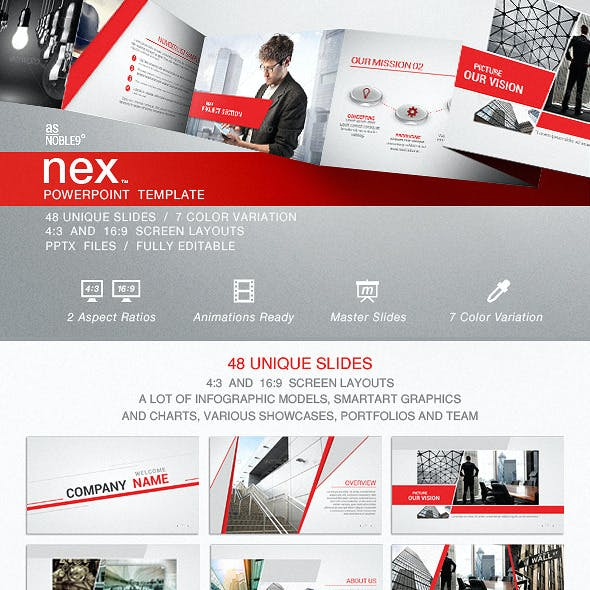 NEX - PowerPoint Template
