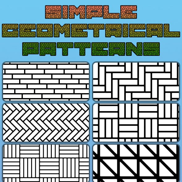 Simple Geometrical Patterns
