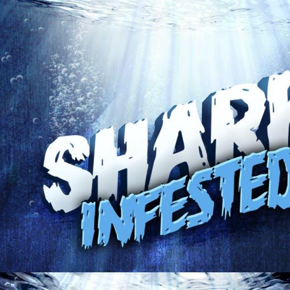 3D Underwater Text Mockup
