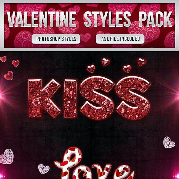 Valentine Styles Pack