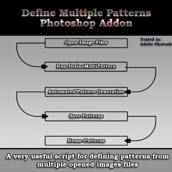 Adobe Photoshop Define Multiple Patterns Script