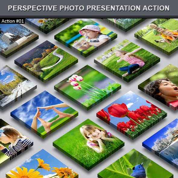 Perspective Photo Presentation Action