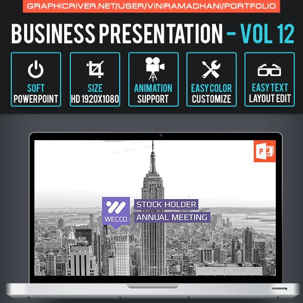 Business Presentation   Volume 12