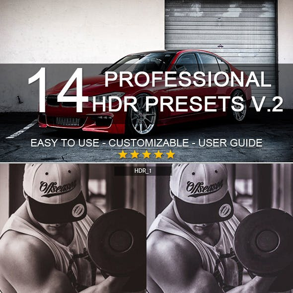 14 Pro HDR Presets