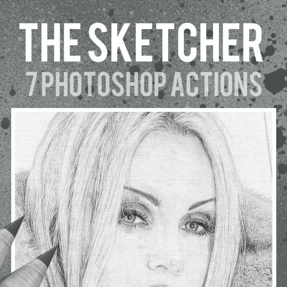 The Sketcher 7 Photoshop Actions