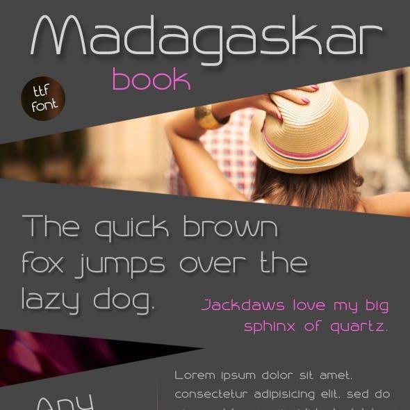 Madagaskar Book Font