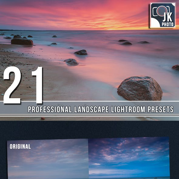 21 PRO  Lightroom Presets Landscape and Nature